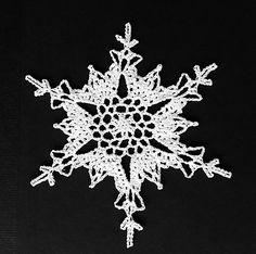"""American School of Needlework #1217: Crochet 101 Snowflakes"" by Delsie Rhoades and Kathy Wesley (on Ravelry, Snowflake No. 20)"