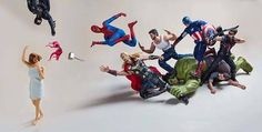 The Secret Life of the Superheroes