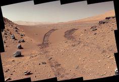 Espectacular panorámica ofrecida por el rover Curiosity.