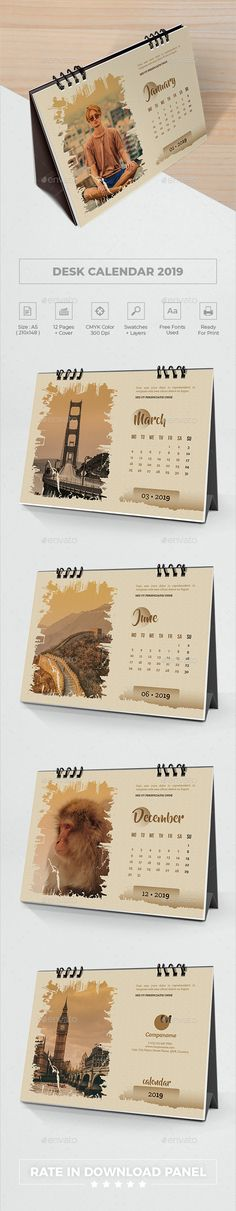 Calendars, Planners & Cards 2019 Fashion Cute Cats Table Calendar 2019 Desk Calendar Office Supply Standing Paper Organizer Schedule Planner Printing Calendar To Adopt Advanced Technology