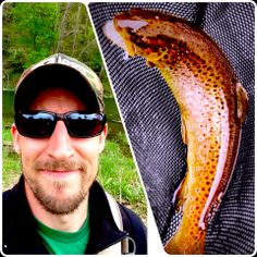 Cinco de Mayo brought luck to one of our anglin' viewers! Rob McLeod from Cincinnati caught this brown trout on a white bead head woolly bugger this Monday on a stretch of water that he has been struggling with, the Brookville Tailwaters in Indiana. Great work Rob!