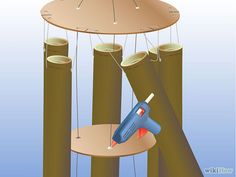 How to Make a Bamboo Wind Chime: 16 Steps (with Pictures)