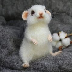 Норочка очень воображулистая мышка, но ей это простительно. 🐭😍❤ Когда то давно, в детстве, у меня была белая крыска с таким именем. Она встречала меня со школы у порога, залазила ловко на плечо, и мы шли с ней гулять. А на улице бежала за мной, как собачка. 😀🐁 мышка при домике. #мышки #мышь #сухоеваляние #авторскиеигрушки #игрушкиизшерсти #mausi #maus #feltingwool
