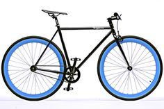 $325.00 The Bravo: Gloss Black frame with opalescent-blue deep dish wheels. The name says it all theBravos blue-on-black design is worth...
