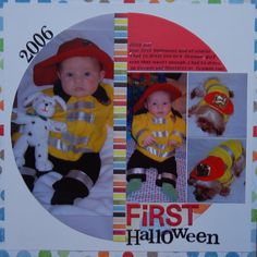 First Halloween - Scrapbook.com
