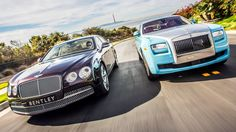 2014 #Bentley Flying Spur vs 2014 #RollsRoyce Ghost! [Head 2 Head Episode 47]