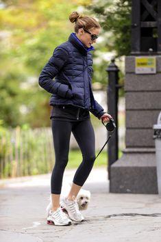 Olivia Palermo - Olivia Palermo Walks Her Dogs