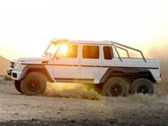 The Mercedes g63 AMG 6×6 G-class pick up!