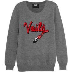 Voilà sequined merino wool sweater