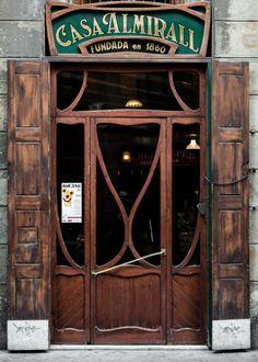 Casa Almirall, Raval,  Barcelona   Catalonia