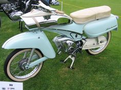 1961, 50cc, DKW Hummel Motorcycle