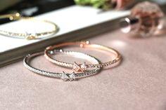 Little Cutie Bracelet Bow Bracelet, Silver Bracelets, Jewelry Accessories, Wedding Rings, Bows, Jewellery, Jewels, Engagement Rings, Silver Cuff Bracelets