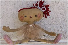 Raggedy Old Annie by Nicole Campbell - one of my favorite Prim Annie artists! I own a couple of her custom made dollies. My Mom has one! :) She's a sweetheart! I met her in Cali!