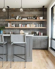 Modern kitchen cabinets are sometimes not made from metal. Also kitchen. Modern kitchen cabinets are sometimes not made from metal. Also its great to have precisely what you want in your kitchen. Classic Kitchen, Rustic Kitchen, New Kitchen, Kitchen Decor, Kitchen Ideas, Kitchen Inspiration, Kitchen Layout, Urban Kitchen, Kitchen Modern