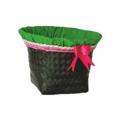 Gift pack made from coloured bamboo slivers and comes with cloth