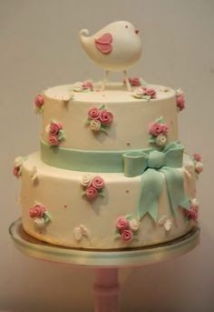 19 Ideas for shabby chic baby shower cake pretty cupcakes Torta Baby Shower, Baby Shower Pasta, Girl Baby Shower Cakes, Gorgeous Cakes, Pretty Cakes, Cute Cakes, Amazing Cakes, Baby Cakes, Pink Cakes