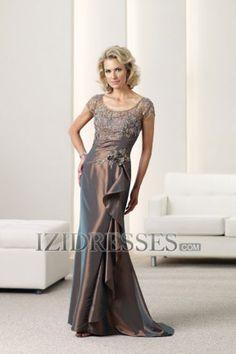 78fd7056de2 Sheath Column Square Taffeta Mother of the Bride Dress - IZIDRESSES.COM at  IZIDRESSES