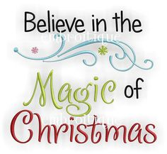 Believe+in+the+Magic+of+Christmas+Embroidery+Design+by+Embroitique,+$2.99