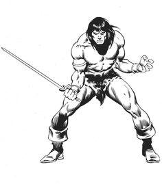 John Buscema The Marvel Comics of the 1980s Conan the Barbarian