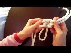 How to tie the fiador (theodore) knot for a rope halter