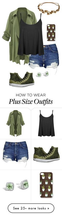 """""""I'm in an Army Base """" by lunar-desings on Polyvore featuring Topshop, Converse, Jennifer Behr and John Hardy"""