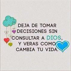 Frases Bonitas Para Facebook: Reflexion Espiritual     #mensajesdeDios