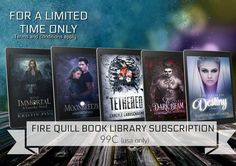 USA ONLY Library card get's you one free book a month until October from the Fire Quill Book Library. Your book of choice from Fire Quill Publishing. New books added regularly. T & C apply. Free Books, My Books, Forbidden Love, Sounds Great, Library Card, Quilling, Giveaways, Authors, Novels