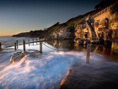Escape to top vacation spot McIver's Baths in Coogee, Australia.