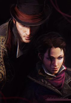 Assassin's Creed Syndicate twins! by shalizeh on deviantART Arno Dorian, All Assassin's Creed, Assesin Creed, Assassins Creed Evie, Jacob And Evie Frye, Fan Art, Pictures, Video Games, Games