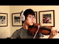 "Titanic - My Heart Will Go On - Jun Sung Ahn Violin Cover -- Walking down the aisle to this then after we say ""I do"" and kiss I will walk back down the aisle to ""Lucky"" by Jason Mraz (violin of course)"