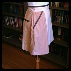 Selling this Mod style color block skirt in my Poshmark closet! My username is: forgetmeknaught. #shopmycloset #poshmark #fashion #shopping #style #forsale #H&M #Dresses & Skirts