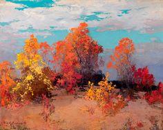 Le Prince Lointain: Stepan Kolesnikoff (1879-1955), Paysage d'Automne....