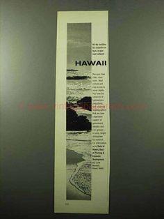 1969 Hawaii Dept. of Planning & Economic Development Ad