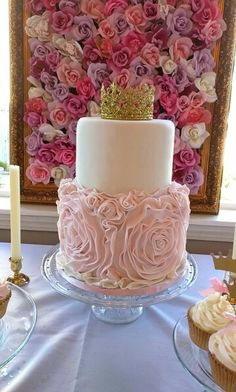 Once upon a time theme, princess cake
