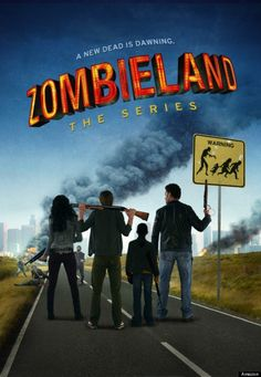 #Zombieland - poster da nova série da Amazon. Estreou a 15 de Abril