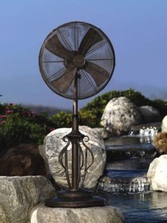 Save on Floor Fans at Bellacor! Hundreds of Fans Brands Ship Free. Deco Breeze, Fanimation, and more! Outside Fans, Patio Fan, Pedestal Fan, Weathered Paint, Floor Fans, Copper Frame, Patio Flooring, Wall Fans, Outdoor Life