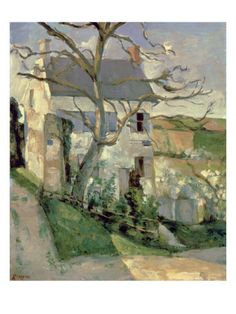 The House and the Tree, C.1873-74 Giclee Print (all posters.com)