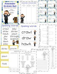 Alexander Graham Bell  Reading Street  Grade 1  http://www.teacherspayteachers.com/Product/Alexander-Graham-Bell-Reading-Street-Grade-1-1224835