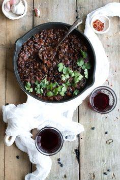 Vegan Colombian Black Bean Stew - The Little Plantation Blog