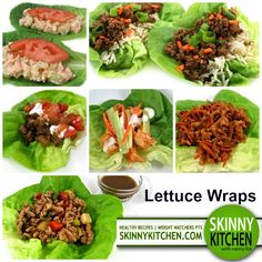 Go round the world with these 6 fantastic lettuce wraps. What you'll love about them is how versatile they are. All would make a great appetizer, snack, lunch