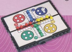 TOPSELLER! Magnetic Ludo Travel Game $3.49