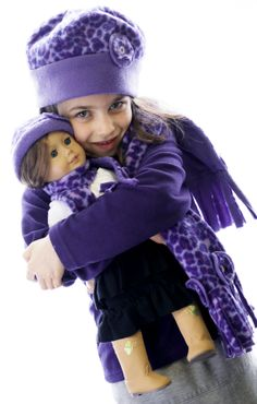 American Girl and Me Matching Girl and Doll by MyDressedUpDoll