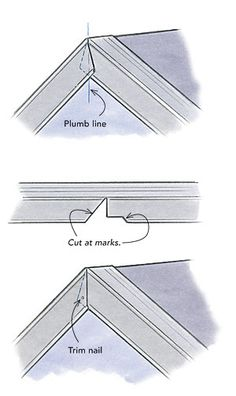 Metal rake-edge roof flashing is sold without labels or instructions. Roofing contractor Dyami Plotke offers his advice on edge flashing for roofs. Pliage Tole, Vinyl Siding Installation, Diy Roofing, Roof Flashing, Roof Edge, Framing Construction, Steel Frame House, Roof Detail, Roof Design