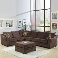 Chocolate Sectional Sofa