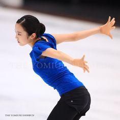 """""""7日に行われる #フィギュアスケート ・ #ジャパンオープン の公式練習が行われ、#宇野昌磨 選手や #本田真凜 選手らがリンクの感覚を確かめました。大会は、男女各2人の4人で構成する日本、北米、欧州の3チームが、フリーの演技だけで合計点を競います。 #japanopen"""" #本田真凛 #フィギュアスケート"""