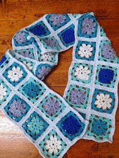 Womens Fashion Scarf Shawl Handmade Knitted Crocheted