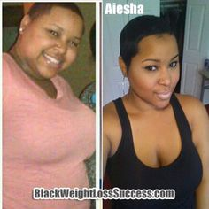 Aiesha lost 25 pounds | Black Weight Loss Success