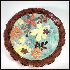Last day of the studio tour. Serving Bowls, Decorative Plates, Clay, Red, Studio, Home Decor, Clays, Decoration Home, Room Decor