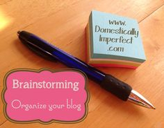 Planning before you blog (especially before starting a blog)