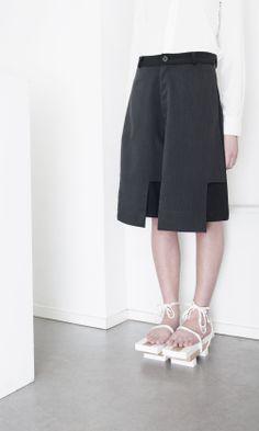 Throwback AW14/15 Portrait #orphanbird #aw14 #womenswear #whitespace #contemporary #minimalfashion #fashion #photography